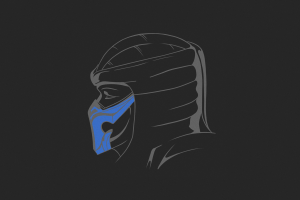 simple background simple mortal kombat 11 sub zero mortal kombat