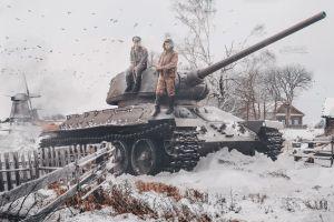 soldier military tank vehicle artwork