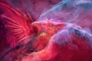 space art nebula cardinals joeyjazz