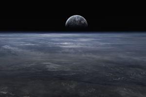 space space art starkiteckt digital art planet