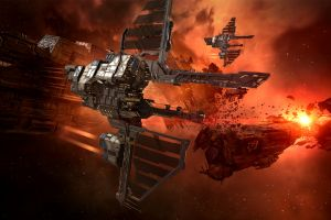spaceship science fiction eve online pc gaming