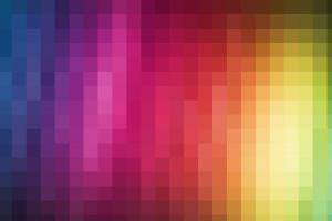 square digital art gradient colorful