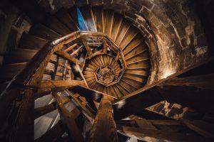 stairway stairs building