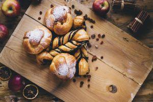 sweets apples fruit food