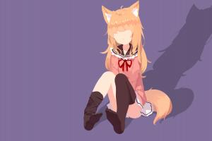 tail anime girls original characters fox girl
