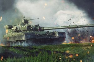 tank vehicle military artwork