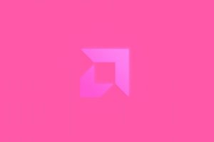 technology pink amd minimalism