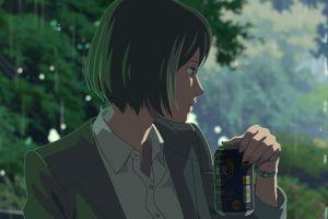 the garden of words makoto shinkai  anime