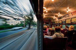 train building traveller outdoors split view women motion blur interior people sitting street men photography railway