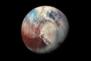 universe pluto space planet