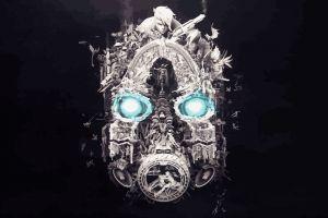 vector mask borderlands 3 digital art