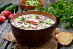 vegetables bowls bread soup food radish dishes