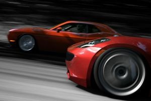 vehicle challenger car red cars fisker