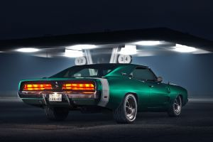 vehicle dodge dodge charger numbers car green cars