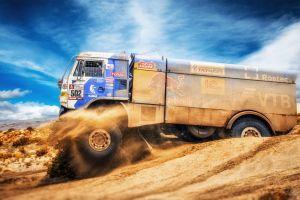 vehicle truck numbers rally desert racing