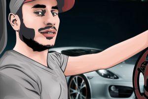 vexel men illustration drawing vector