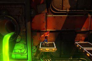 video game characters crash bandicoot playstation
