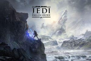 video games ea  lightsaber video game art jedi: fallen order star wars