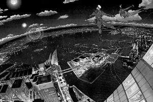 wallman city drawing manga