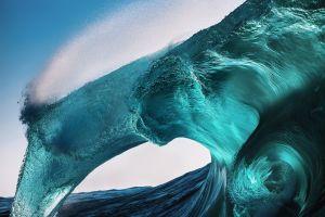 waves water nature sea