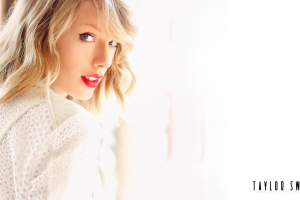 white background celebrity singer red lipstick music taylor swift women