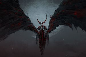wings fantasy art artwork