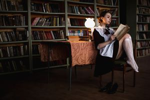 women lamp legs reading socks books women indoors