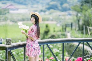 women model depth of field black hair asian long hair