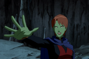 young justice anime green skin