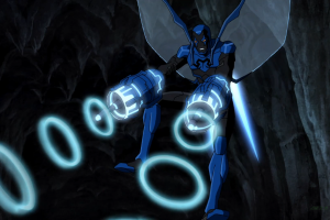 young justice blue beetle anime