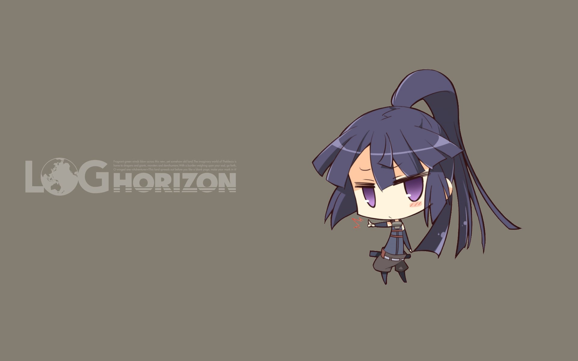 akatsuki (log horizon) anime girls log horizon