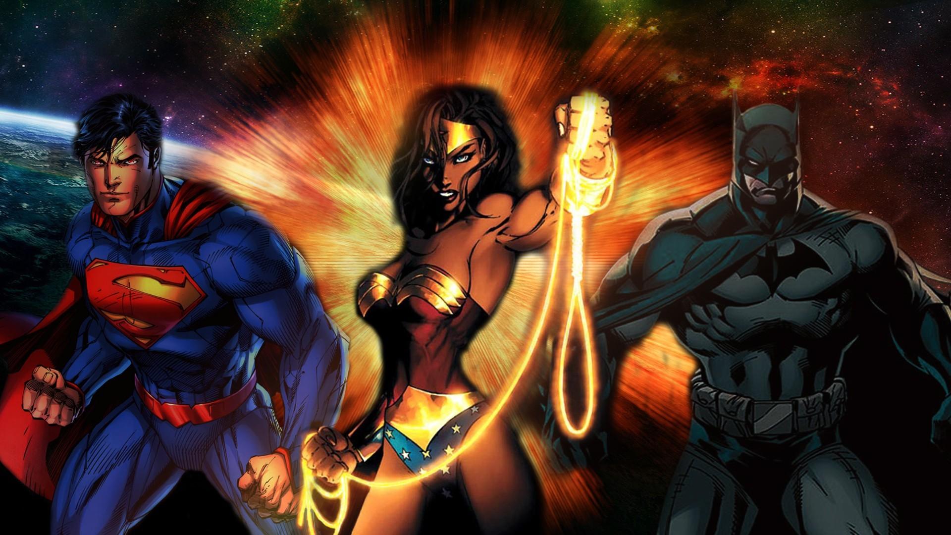 artwork batman michael turner dc comics justice league wonder woman superman