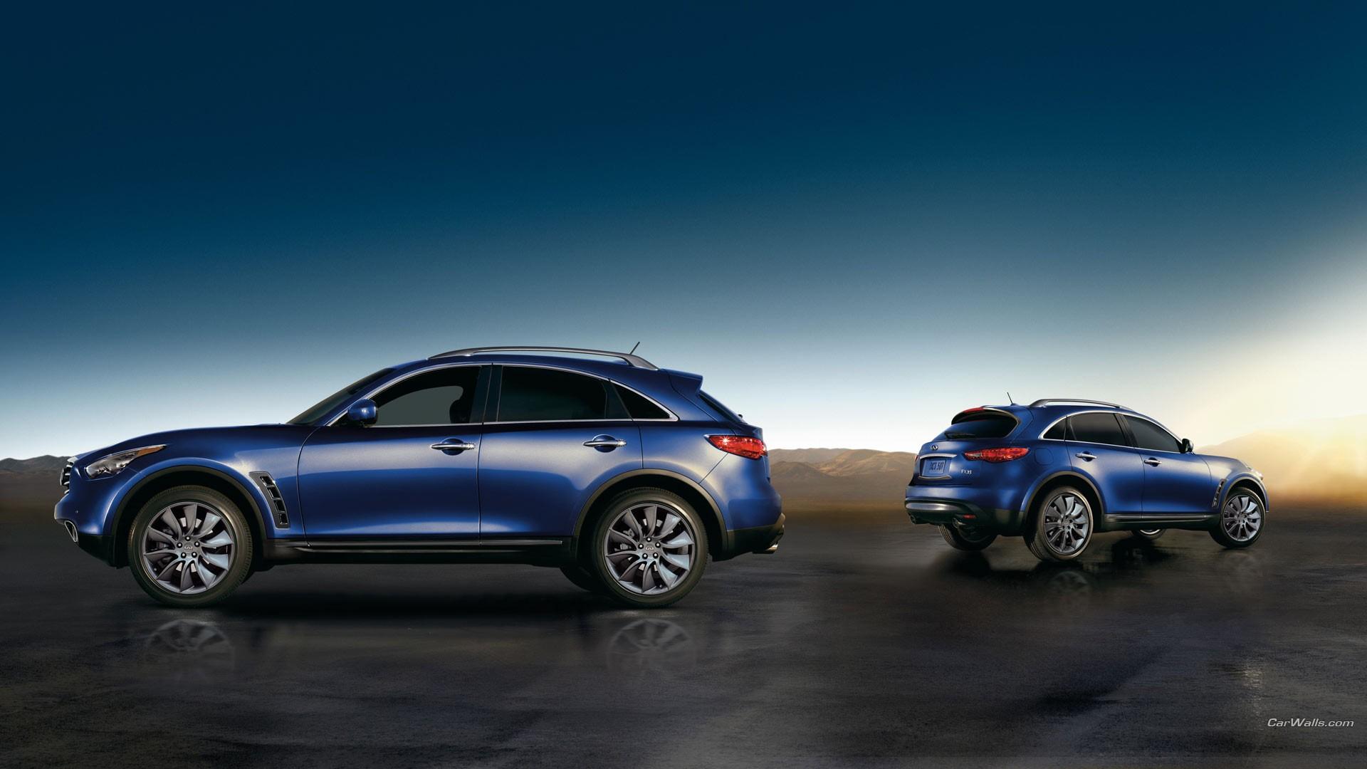 blue cars car infiniti fx vehicle