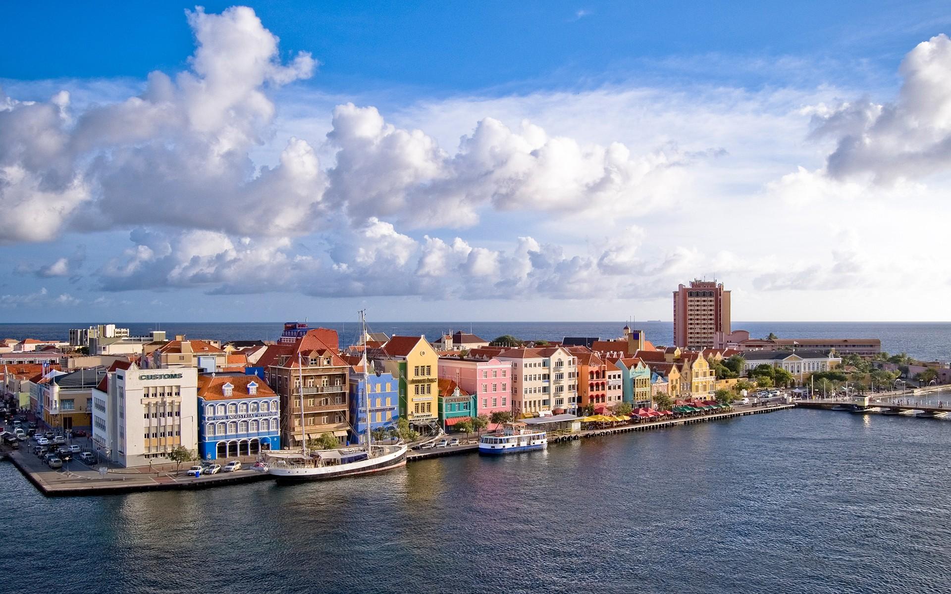 curacao island city curacao cityscape