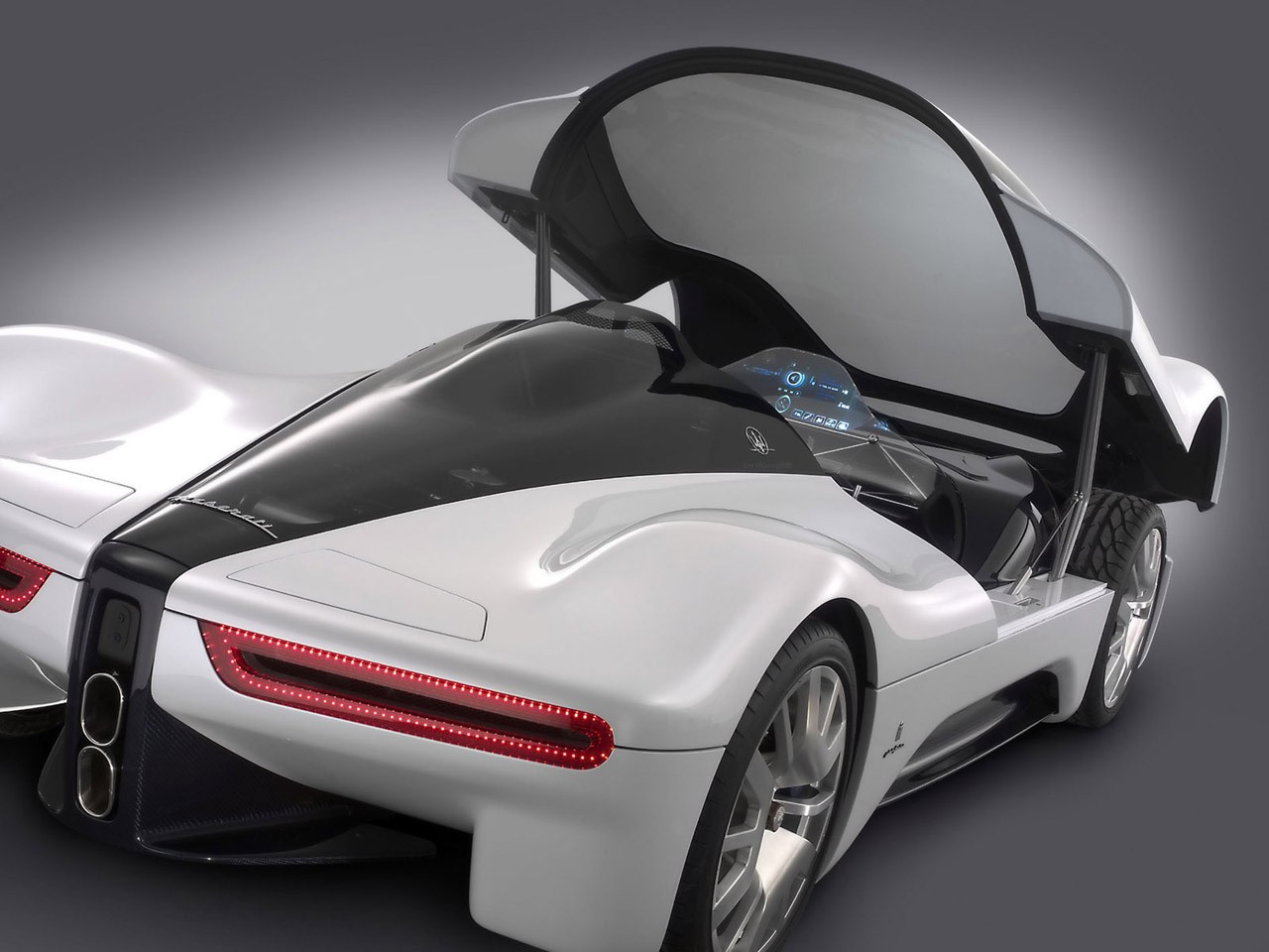 digital art maserati vehicle car