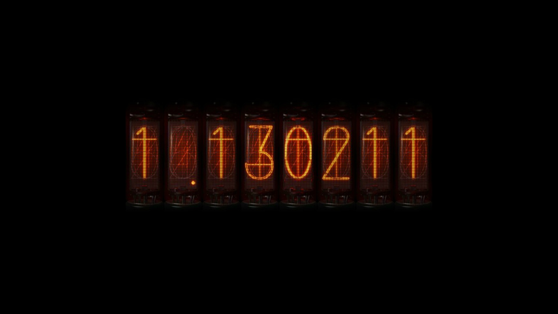 divergence meter steins;gate nixie tubes numbers time travel anime
