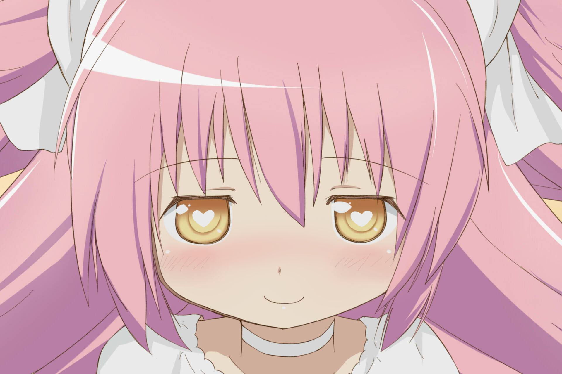 mahou shoujo madoka magica kaname madoka anime anime girls