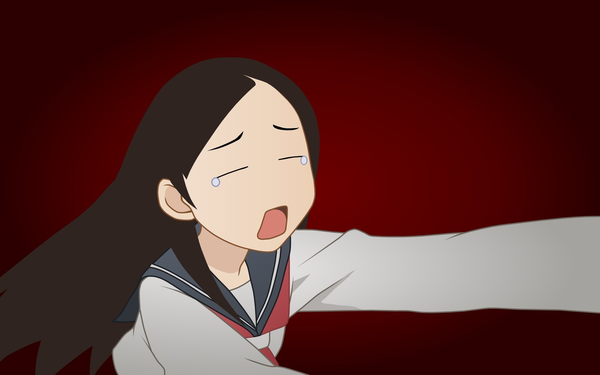 manga anime anime girls tears