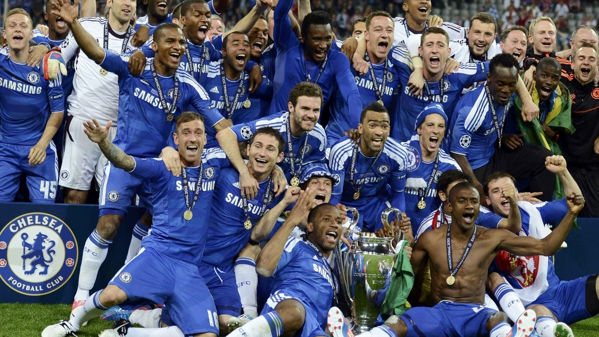 men arms up sports soccer open mouth sport club chelsea fc sport