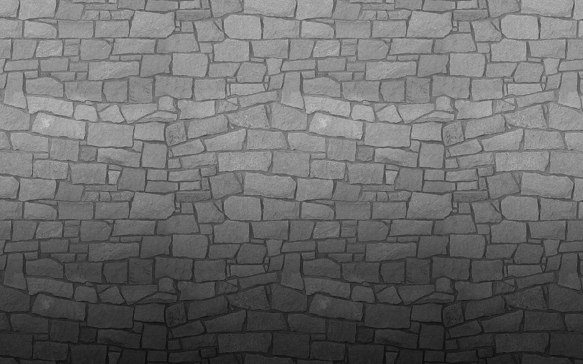 monochrome texture bricks pattern