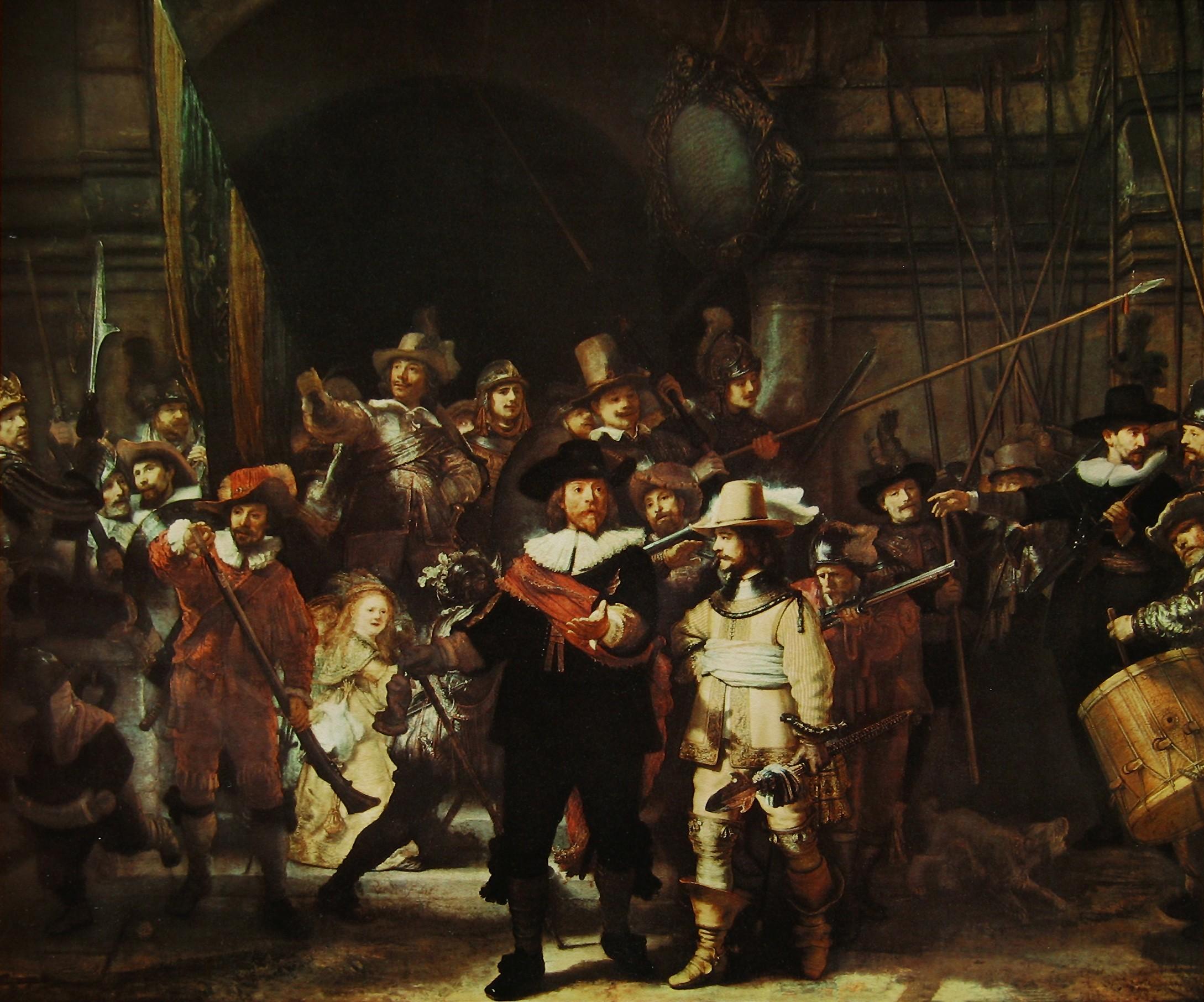 painting rembrandt van rijn artwork classic art