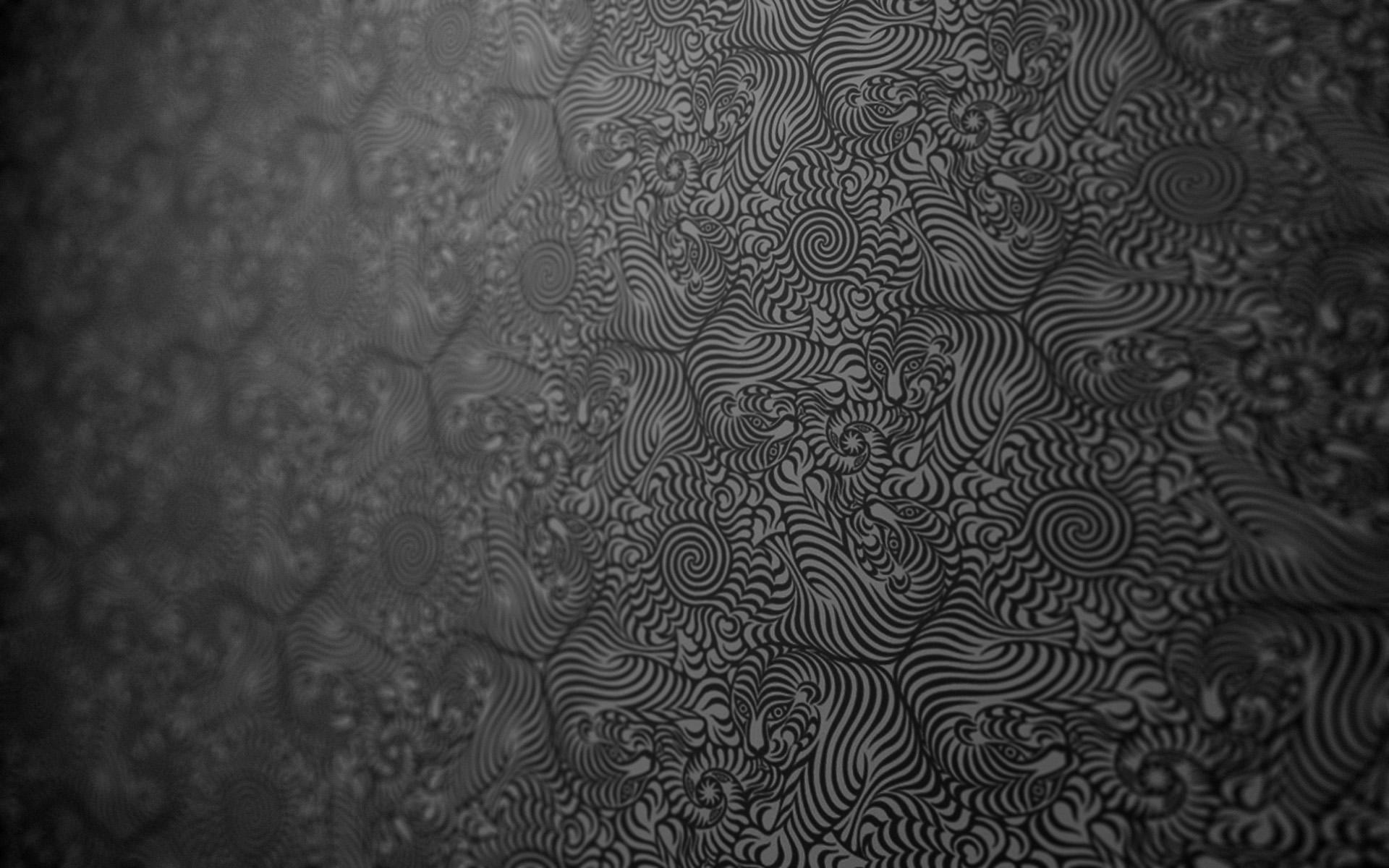pattern abstract fractal artwork digital art texture textured tiger monochrome tassellation