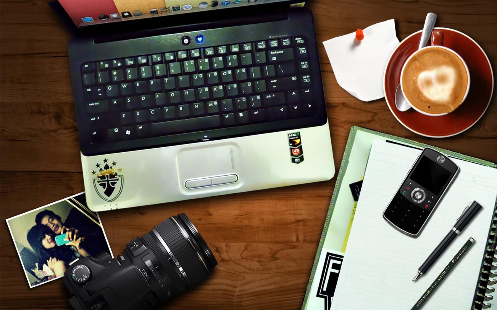 phone laptop technology coffee cellphone camera