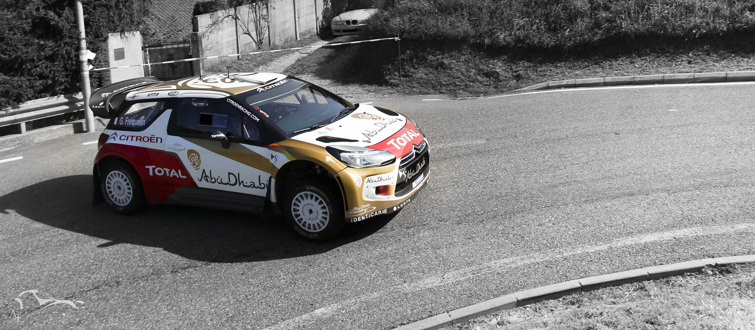 rallye citroen ds3 car sports car