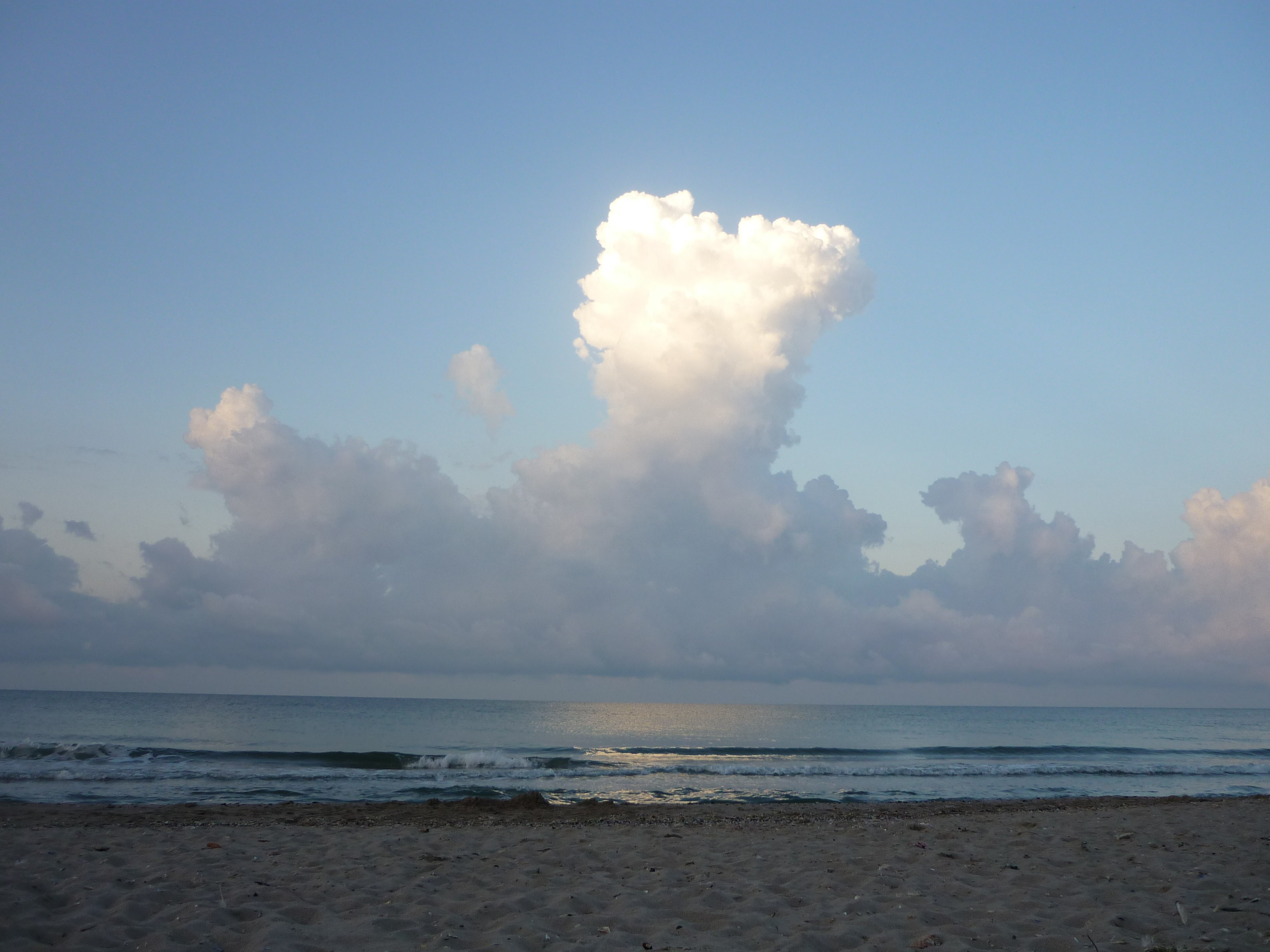 sea horizon beach