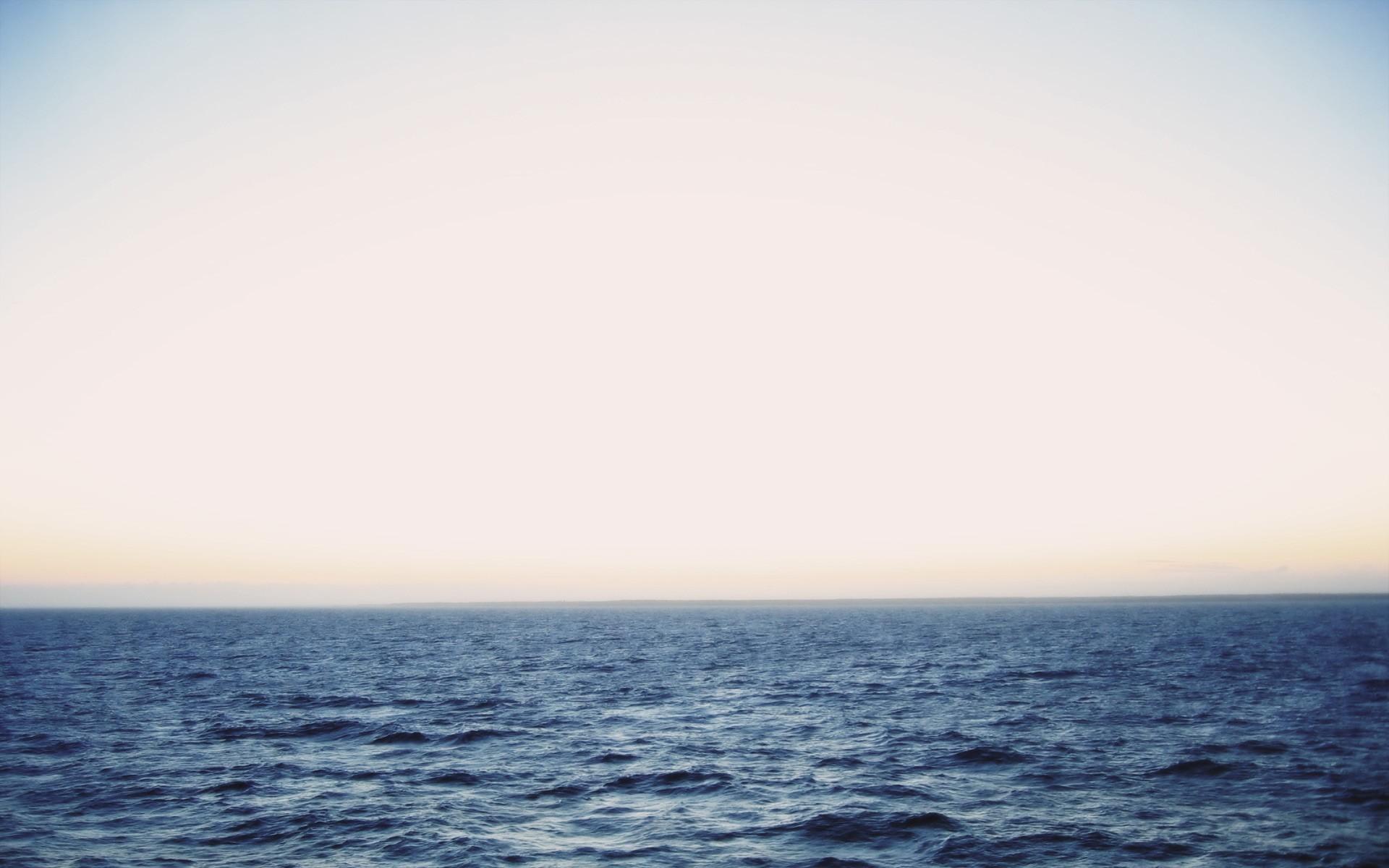 sky horizon sea