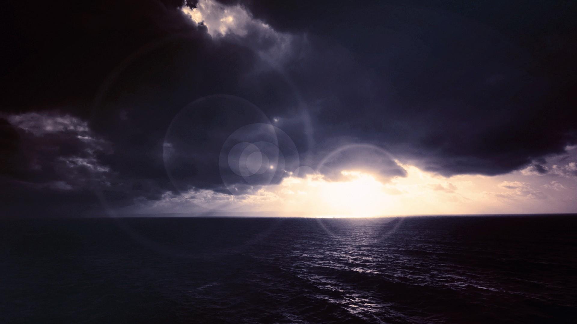 sky sea horizon