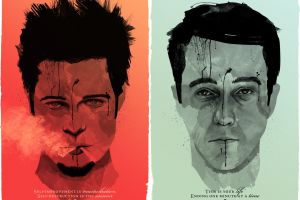 1999(year) tyler durden movies brad pitt fight club edward norton