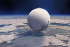 2014 (year) video games planet destiny (video game) space space art clouds digital art