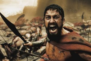 300 beard movies spartans